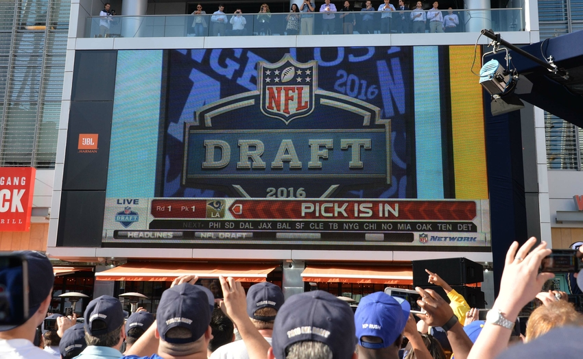 49ers a blueprint to start the rebuilding process in san apr 28 2016 los angeles ca usa los angeles rams fans malvernweather Gallery