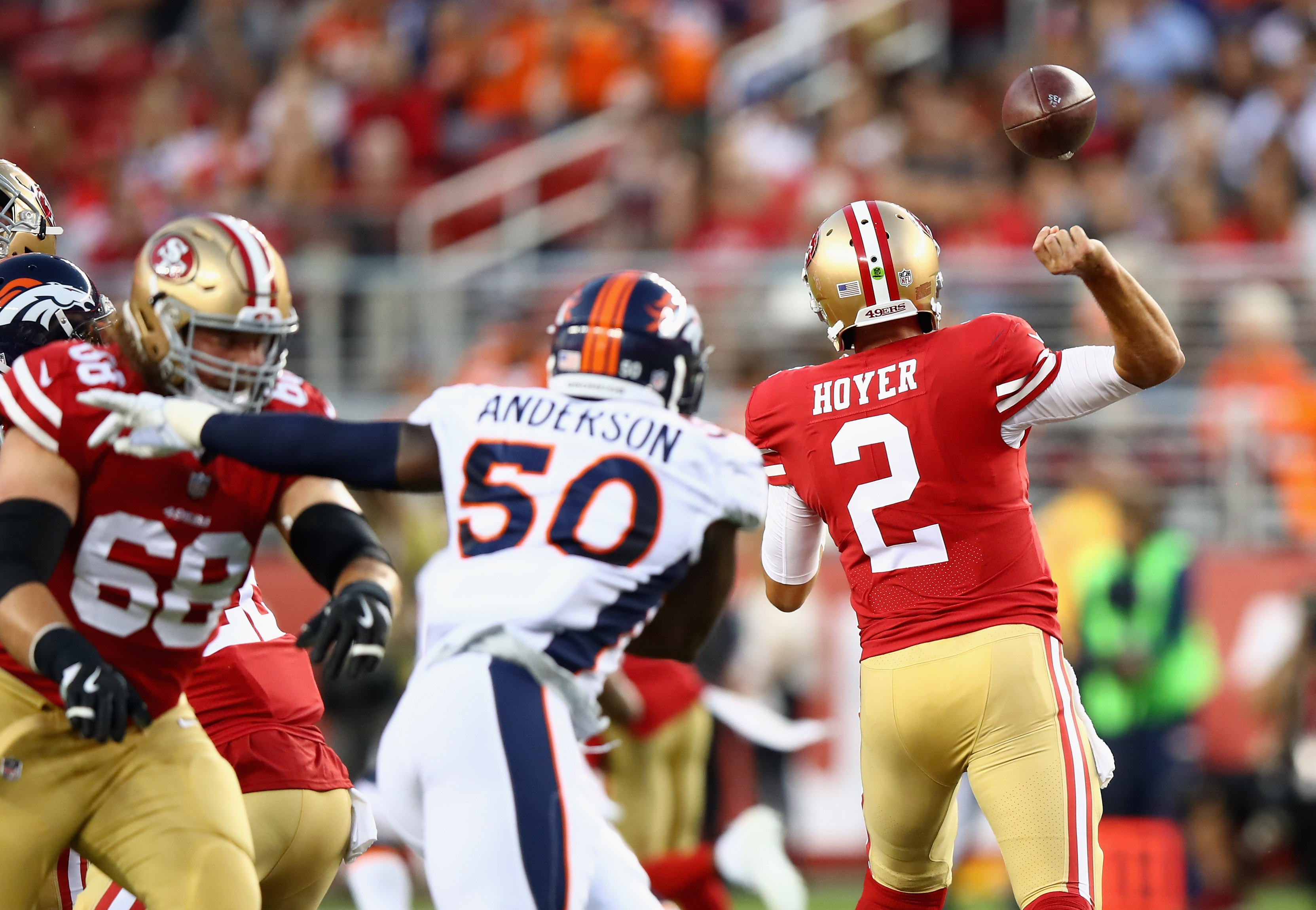 Is 49ers game a 'make or break' audition for Denver's two QBs?