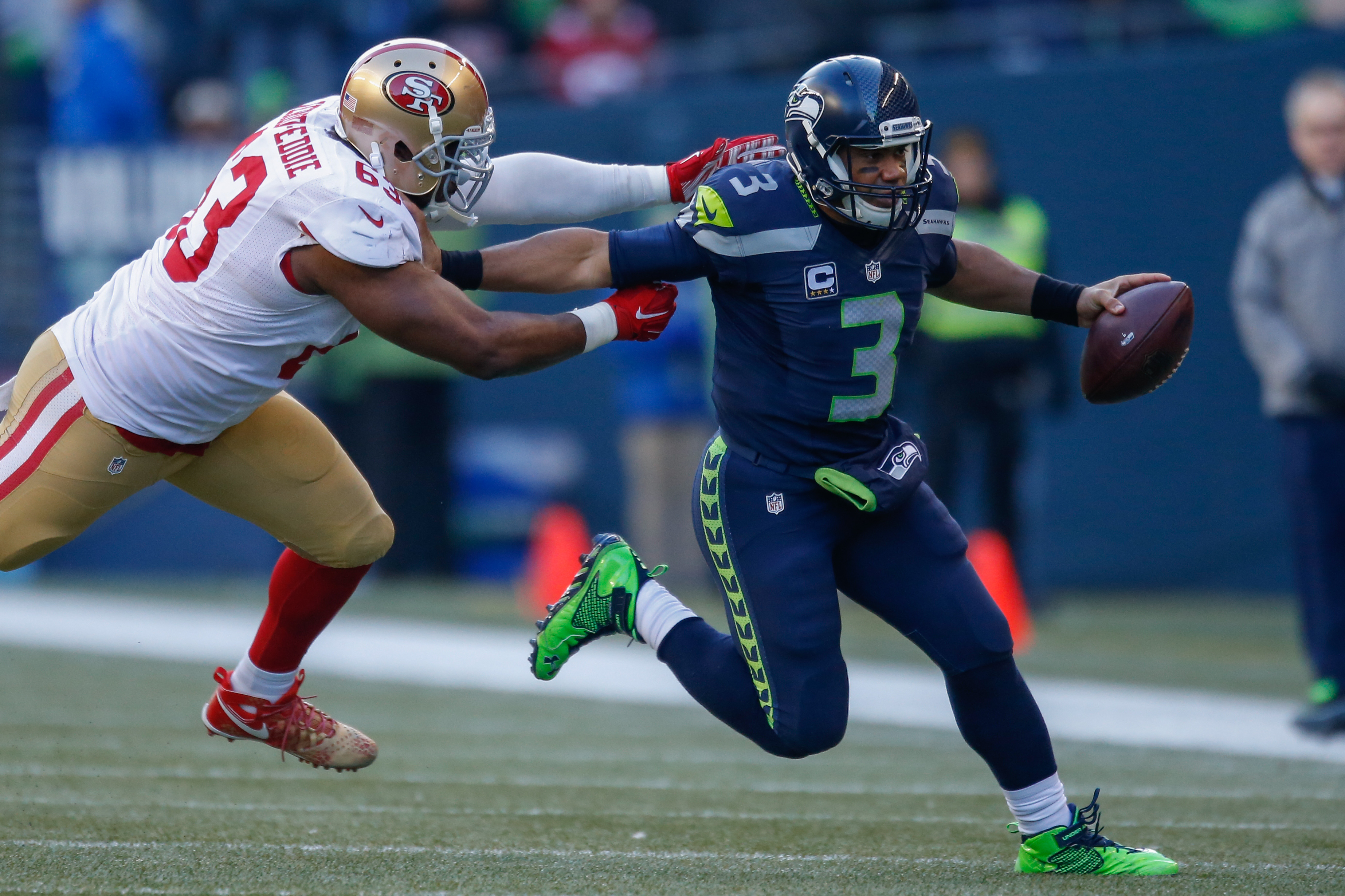 Seahawks cornerback Richard Sherman is questionable for 49ers game