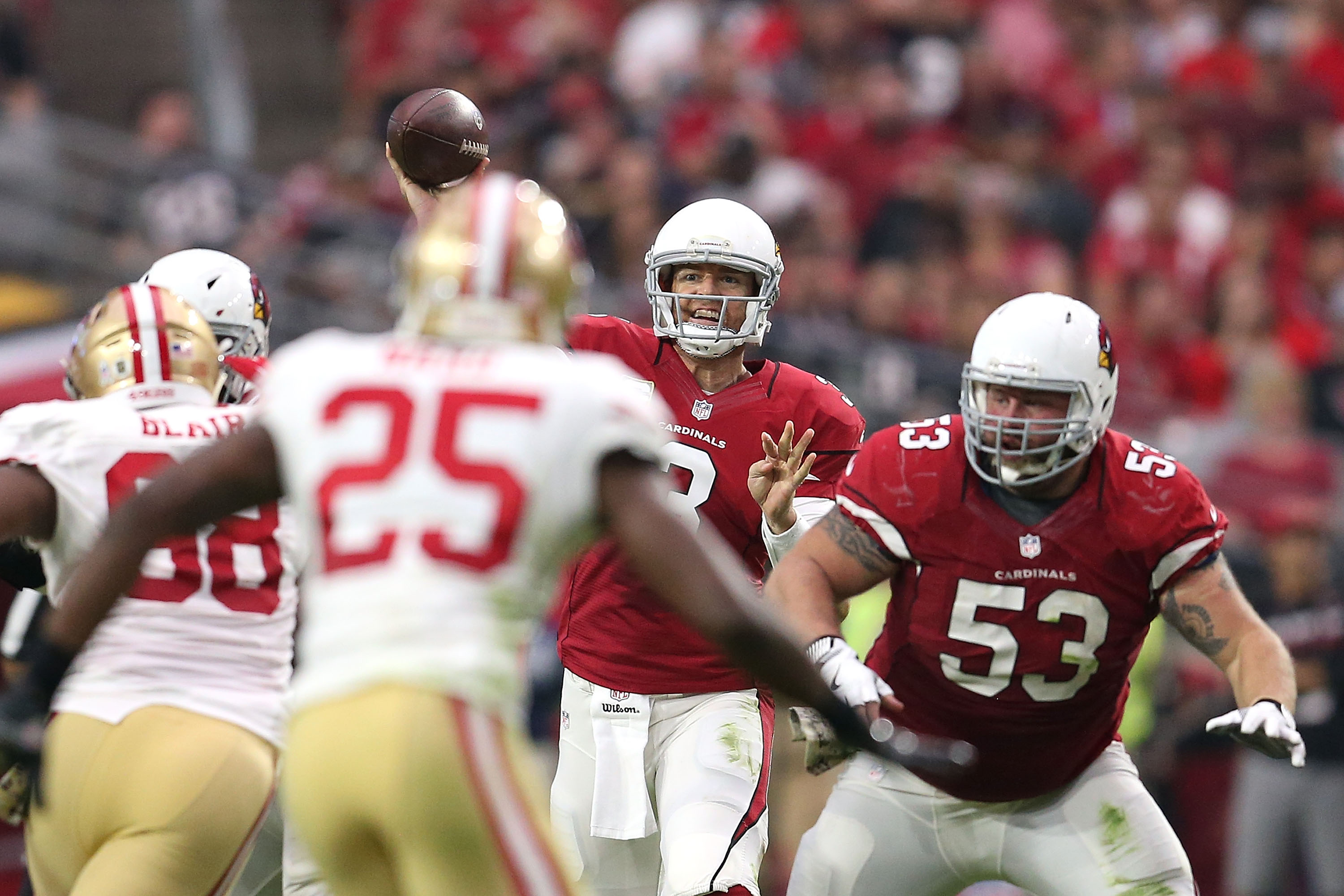 What defensive breakdowns happened for 49ers on Cardinals' OT drive?
