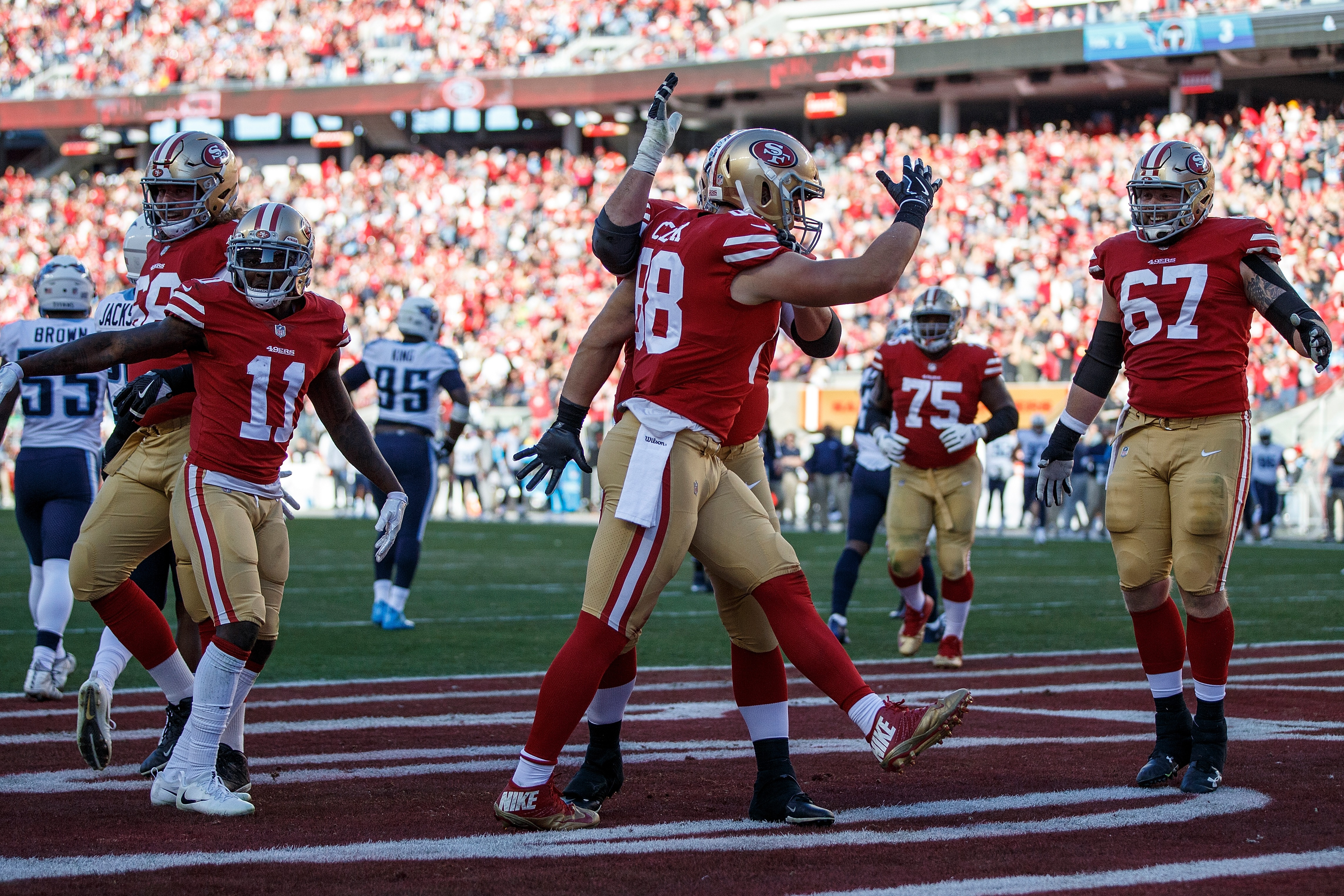 49ers Robbie Gould wins it in Jimmy Garoppolo first home start