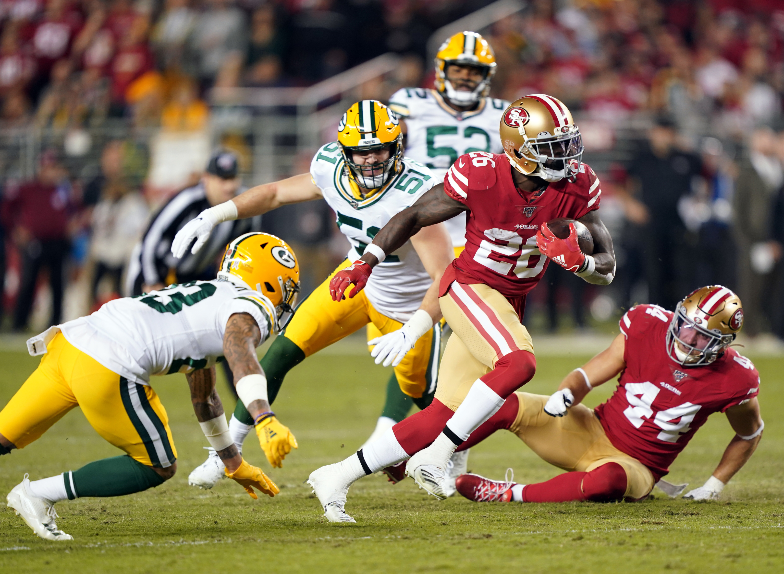 Packers Vs 49ers Winning The Run Game Key In Nfc Championship