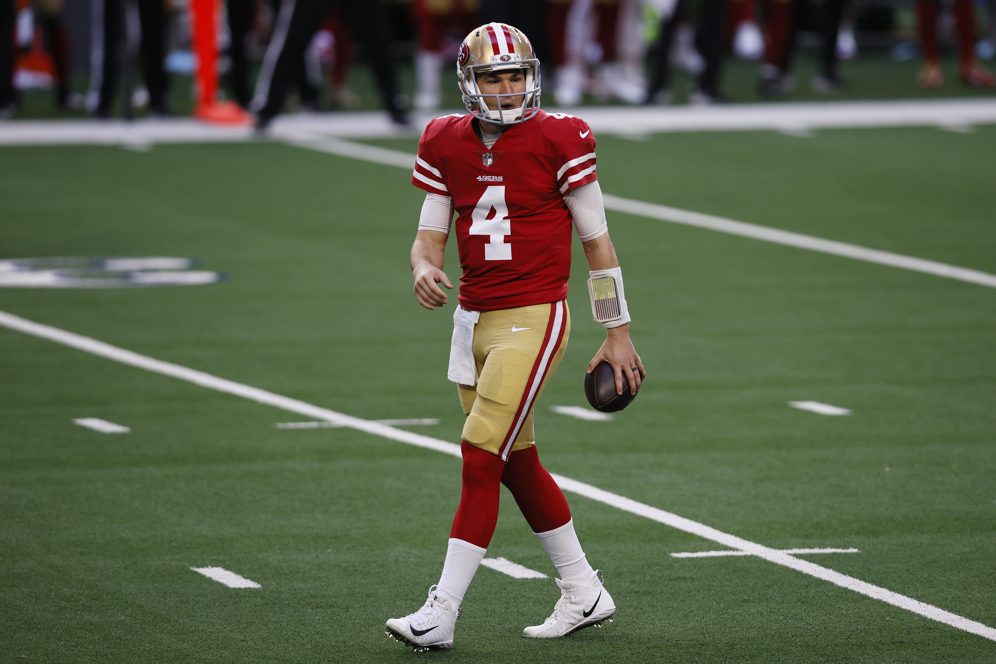 SF 49ers should pass on tendering RFA Nick Mullens