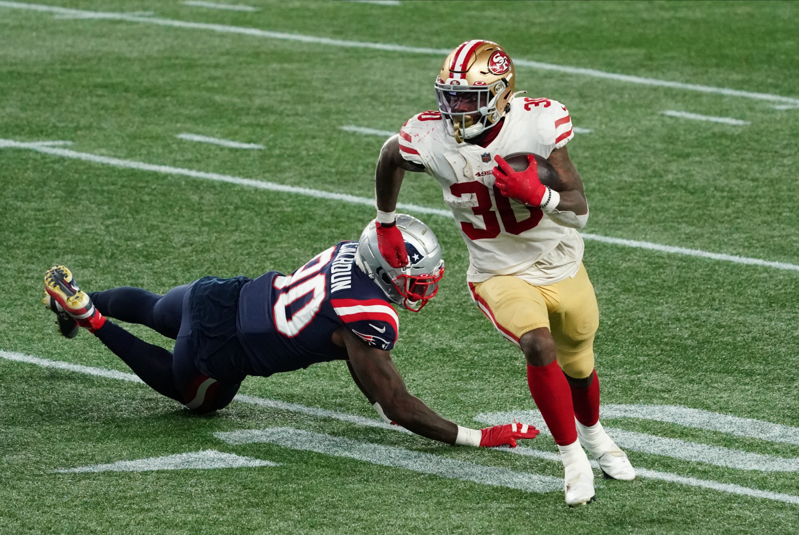 Sf 49ers Grades Position Analysis From Week 7 Win Vs Patriots