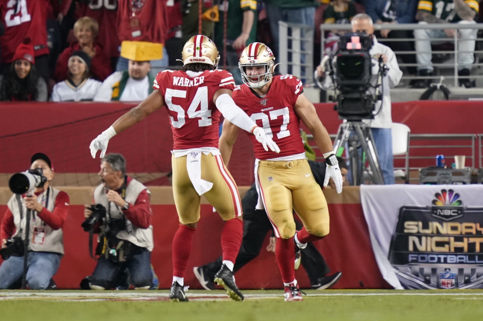 49ers roster: Predicting extensions for Fred Warner, Nick Bosa