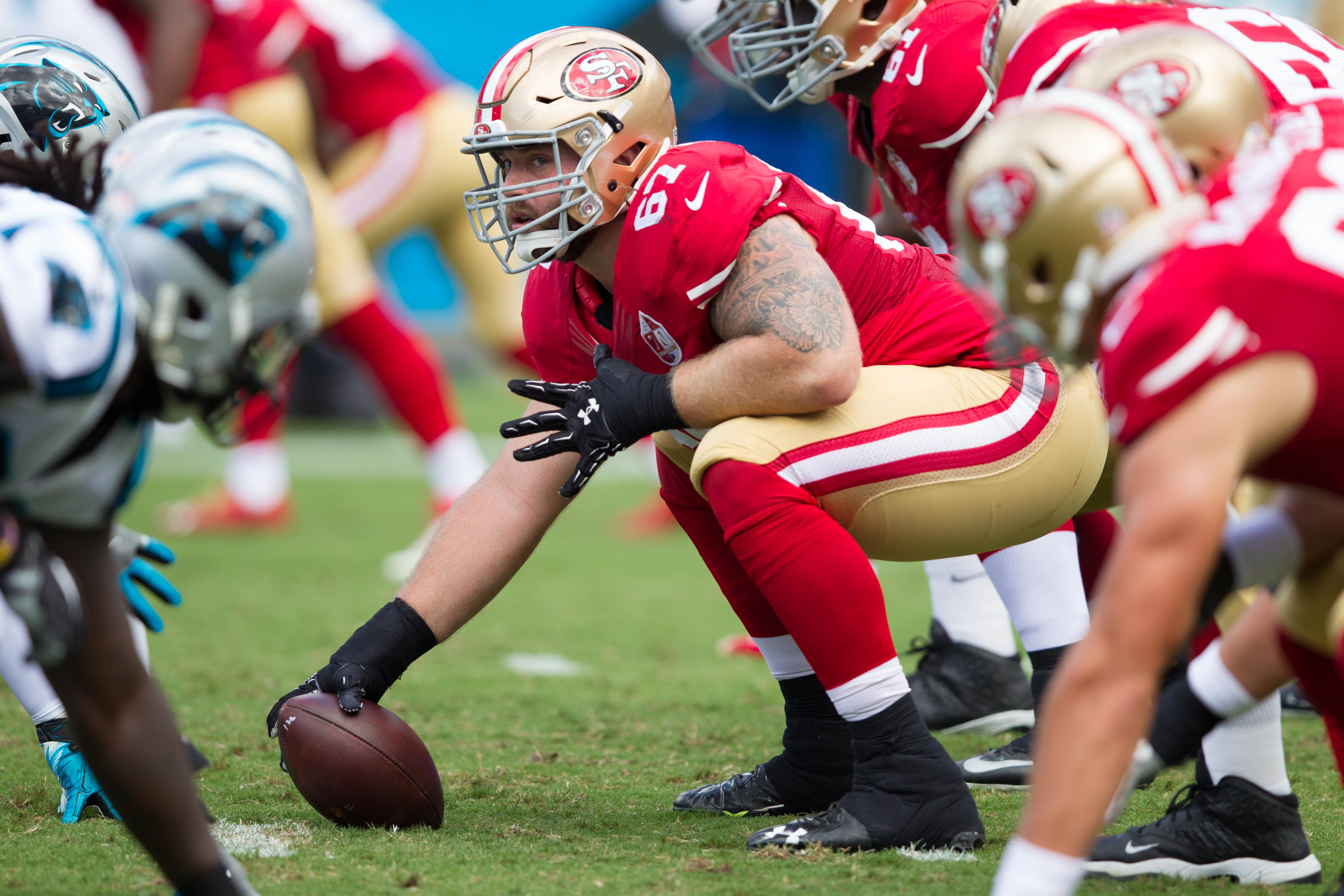 49ers: Will San Francisco's offensive line improve in 2017?