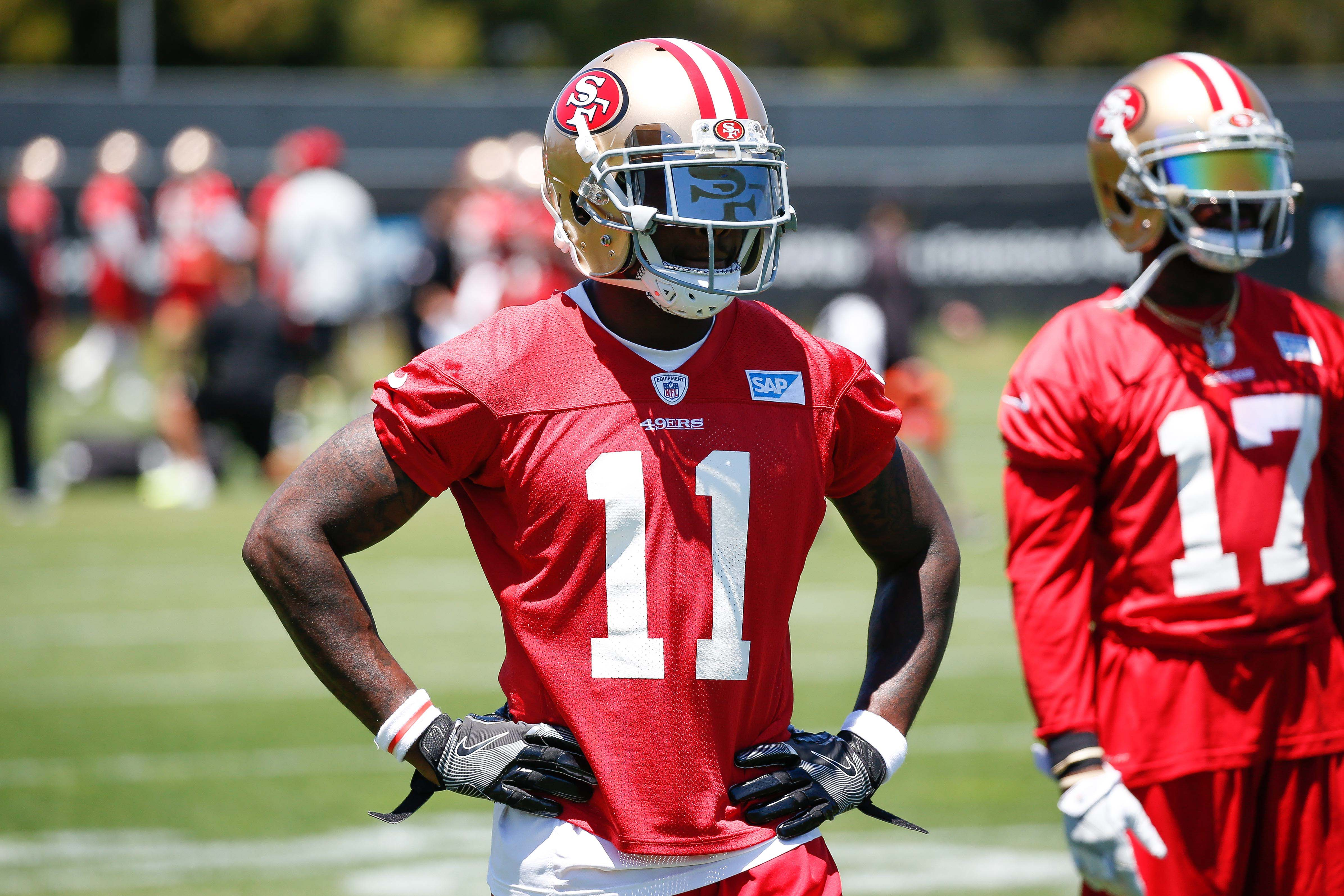 separation shoes 1a222 7d604 49ers film room: Wide receiver and speedster Marquise Goodwin